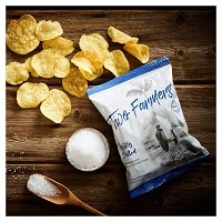 Two Farmers Crisps - Lightly Salted - Small 40g